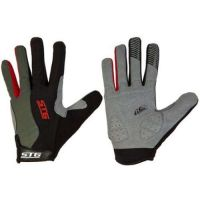 Перчатки STG с длинными пальцами и защитной прокладкой, застежка на липучке (размер M)