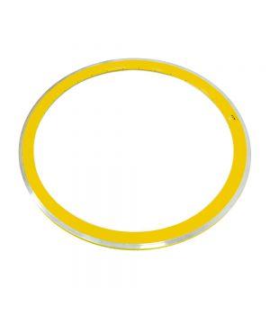 Обод M-WAVE 28 (622)  36 отв. желтый двойной профиль