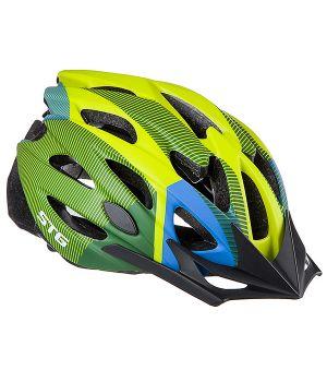 Шлем STG MV29-A / Х89038 (M, салатовый/синий/черный)
