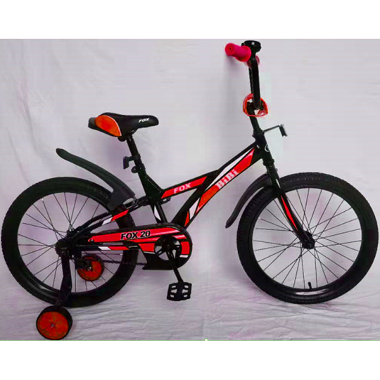 Bibi Fox 20 (2021, черный/красный)