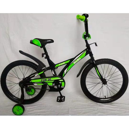 Bibi Fox 20 (2021, черный/зеленый)
