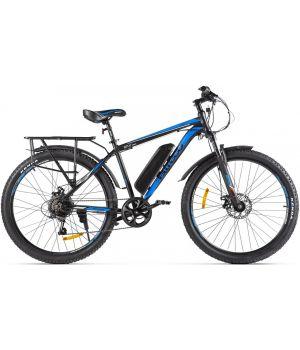 Электровелосипед Eltreco XT800 2021 (черный/синий)