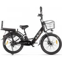 Электровелосипед Eltreco E-Alfa Fat 2020 (черный)