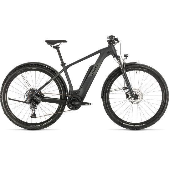 Электровелосипед Cube Reaction Hybrid Pro 500 Allroad iridium/black (2020)