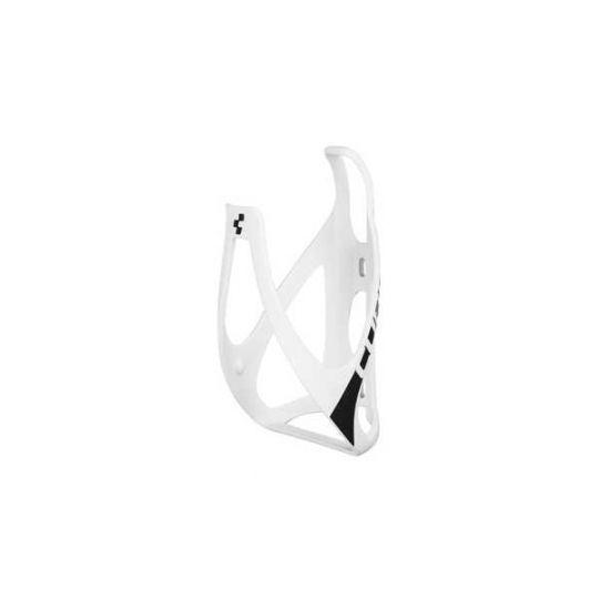 Флягодержатель CUBE HPP матовый белый/черный, код 13073