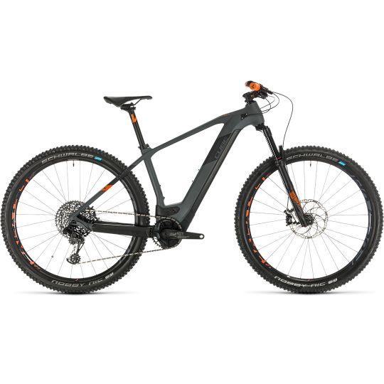 Электровелосипед Cube Elite Hybrid C:62 Race 625 29 grey/orange (2020)