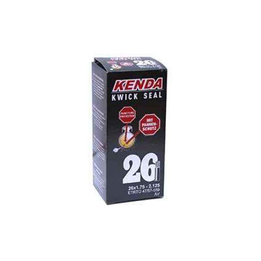 """Камера антипрокольная с герметиком 26"""" авто 1,75-2,125 (47/57-559) KENDA"""