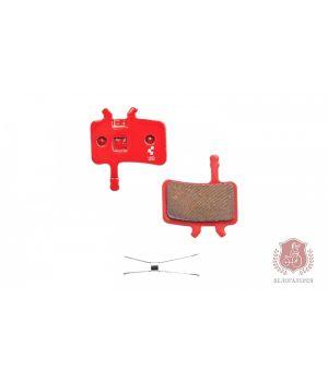 Тормозные колодки для дискового тормоза CUBE/RFR, 10002