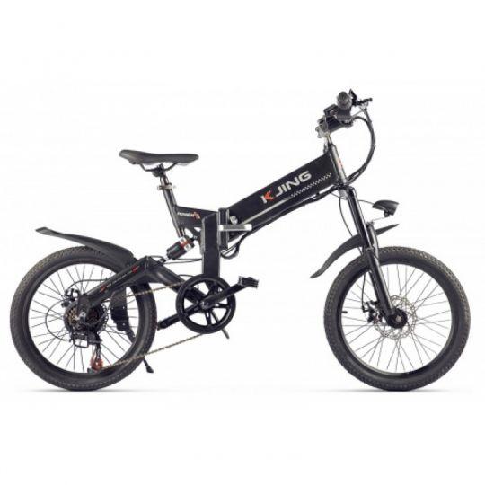 Электровелосипед Kjing Power чёрный