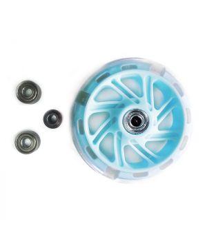 КХ12СМ Колеса для самоката Kaixin toys бирюзовые