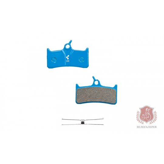 Тормозные колодки для дискового тормоза (Shimano DeoreXT), CUBE/RFR, 10027