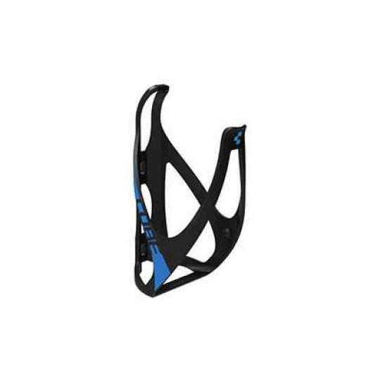 Флягодержатель CUBE Flaschenhalter HPP matt black-n-classic blue, код 13016