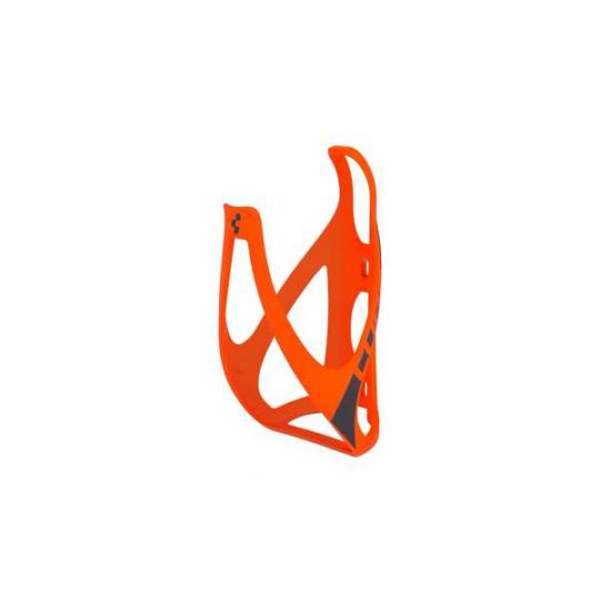 Флягодержатель CUBE BOTTLE CAGE HPP matt orange/black
