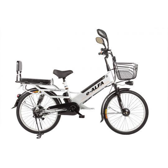Велогибрид Eltreco e-Alfa GL серый
