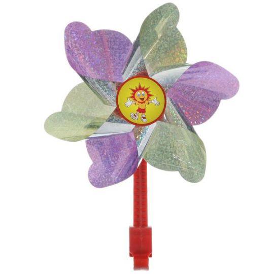 Ветряная мельница STG, желто-фиолетовая