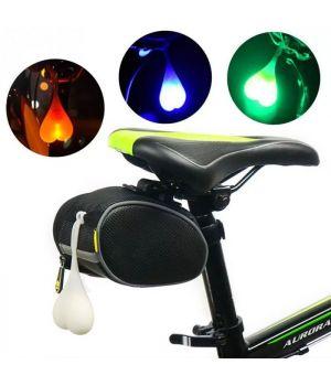 Задний предупреждающий фонарь для велосипеда в форме Сердца