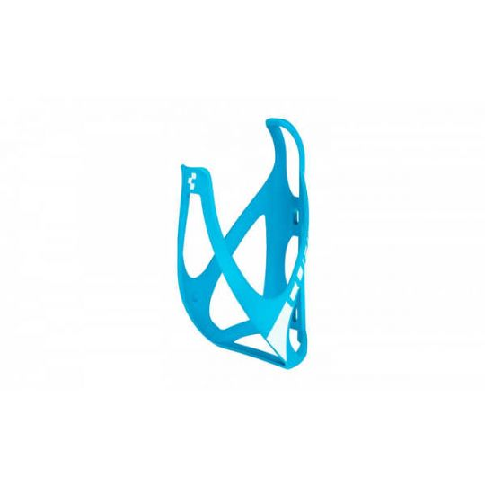 Флягодержатель CUBE BOTTLE CAGE HPP matt blue/white