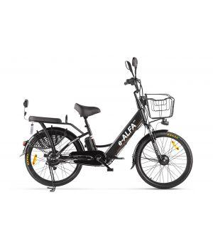 Электровелосипед Eltreco e-ALFA new (2020) черный