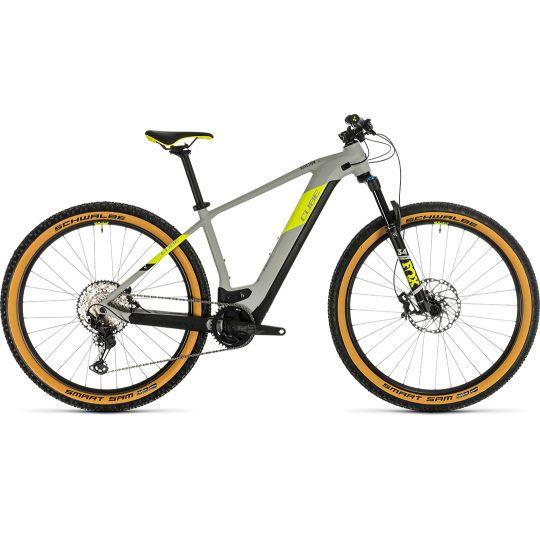 Электровелосипед Cube Reaction Hybrid SLT 625 29 grey/yellow (2020)