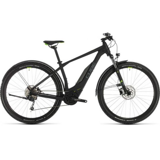 Электровелосипед Cube Acid Hybrid ONE 400 Allroad 29 black/green (2020)