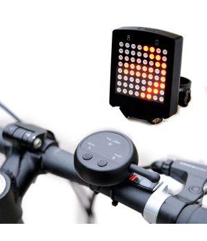 Задний фонарь для велосипеда с указателем поворота