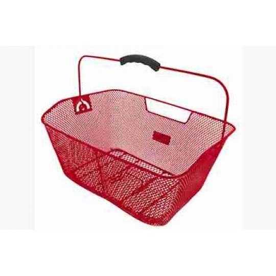 Корзина 5-431613 задняя (41х31х16см) сталь, красная M-WAVE
