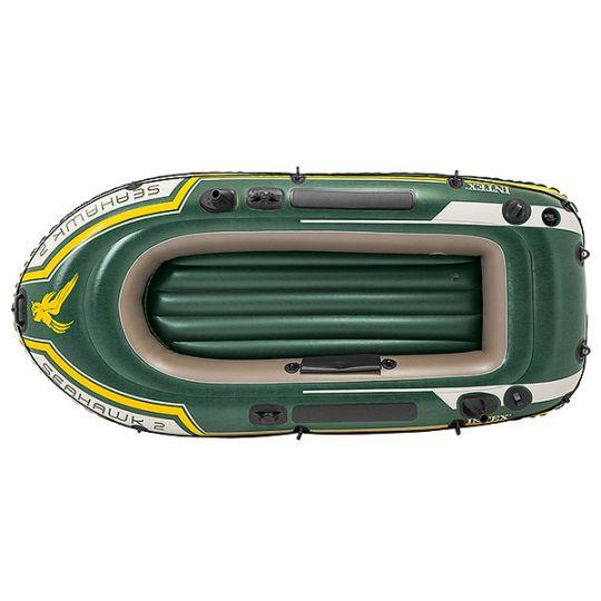 Лодка Seahawk 200236*114*41см весла+насос (59623,68612)
