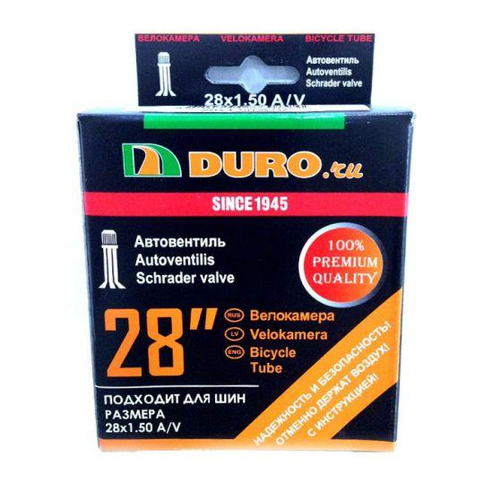 Велокамера 28x1.25/1.50 A/V (31/37-622) DURO