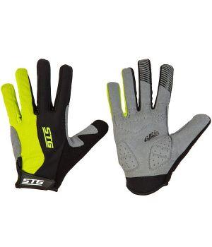 Перчатки STG с длинными пальцами и защитной прокладкой, застежка на липучке (размер L)
