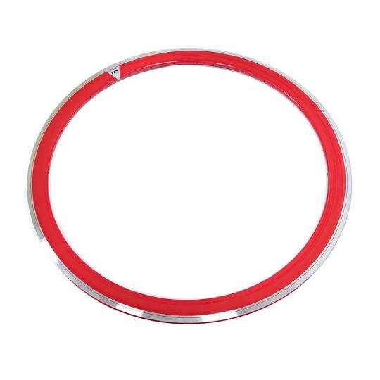 обод M-WAVE 28 (622) красный 36 отв. двойной профиль