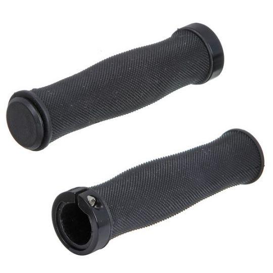 Грипсы STG, HL-G217, 130 мм, чёрные