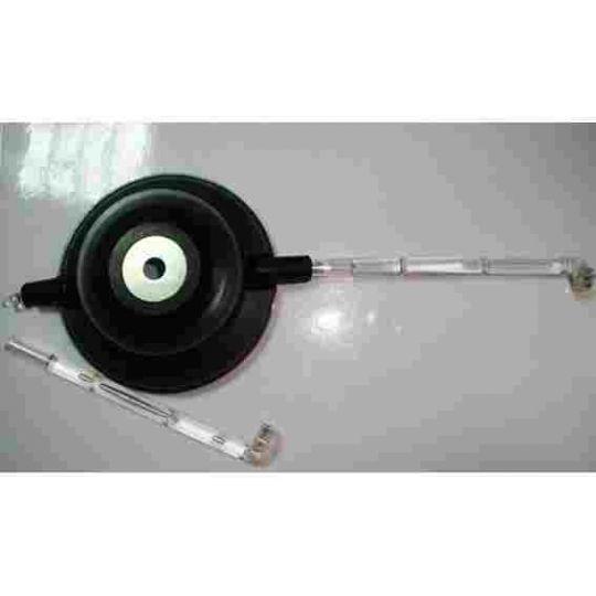 Мигалка музыкальная (фонарь светодиодный, на втулку колеса)