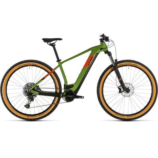 Электровелосипед Cube Reaction Hybrid EX 625 29 green/orange (2020)