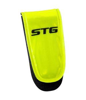 Светоотражатель STG 49011 Клипса на липучке, с 3-мя красными диодами.