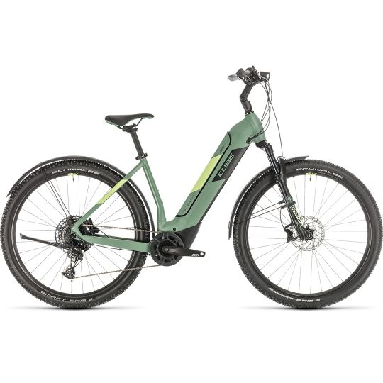 Электровелосипед Cube Nuride Hybrid EXC 500 Allroad green/sharpgreen (2020)