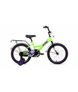 ALTAIR KIDS 18 (2020) ярко-зеленый\фиолетовый