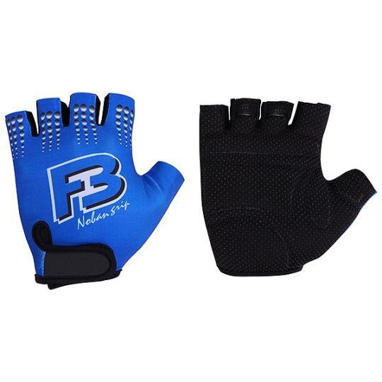 Перчатки STG летние кожа+лайкра, размер L, синие