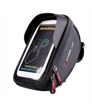 Водонепроницаемый чехол для телефона и мелочей на руль велосипеда