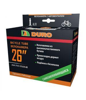 Велокамера 26x1.75/2.125 A/V-48 (57-559) DURO