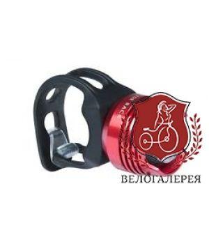 """Фонарь велосипедный """"White LED"""" red RFR CUBE, код 13844"""