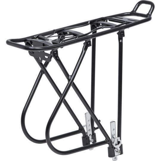 """Багажник для велосипеда STG, 26""""-28"""", задний KWA-637-05 , алюм., черн.Х68680-5"""