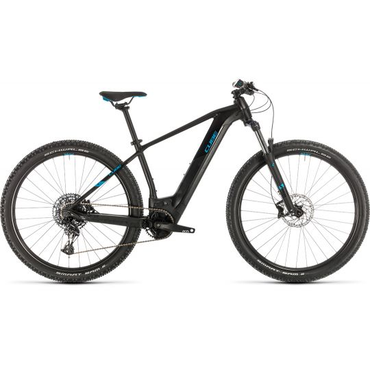 Электровелосипед Cube Reaction Hybrid EX 500 29 black/blue (2020)