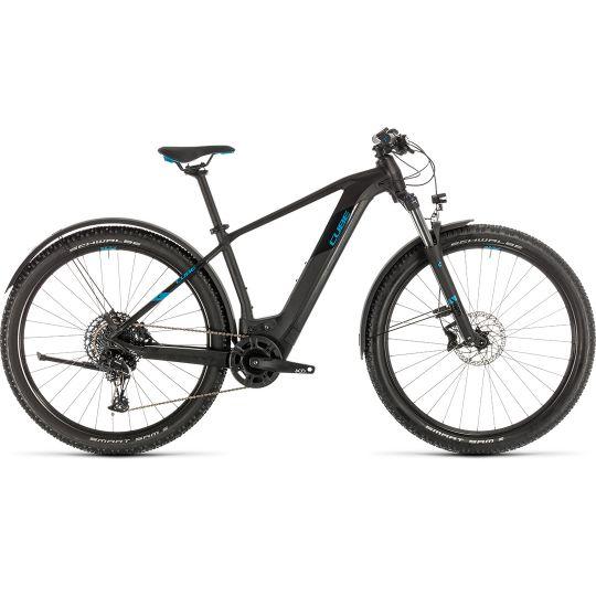 Электровелосипед Cube Reaction Hybrid EX 500 Allroad 29 black/blue (2020)