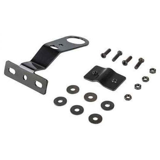 Крепеж для корзины HT-083A стальной, черный