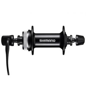 Втулка передняя Shimano HB-MT200, CENTER LOCK DISC 28H, QR:133MM,100MM,ROTOR MOUNT COVER