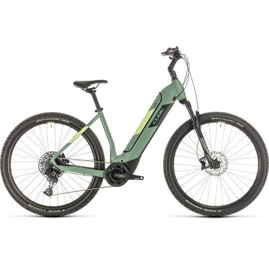 Электровелосипед Cube Nuride Hybrid EXC 625 green/sharpgreen (2020)