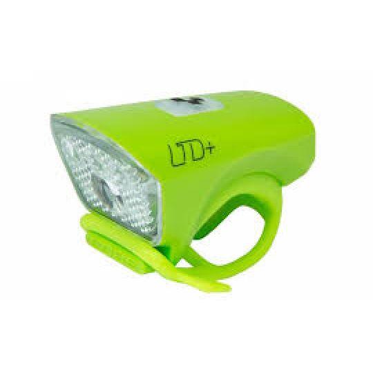 "Фонарь передний LTD+ ""Белый светодиод"" зеленый CUBE, код 13957"