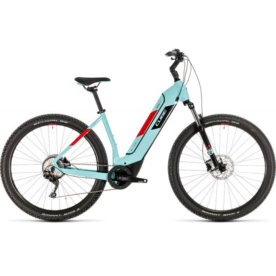 Электровелосипед Cube Nuride Hybrid Pro 500 glacierblue/red (2020)