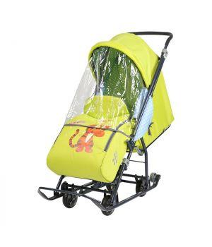 Санки-коляска Disney Baby 1 DB1/3, Тигруля лимонный