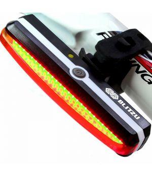 Задний велосипедный LED-фонарь с USB зарядкой и креплением на руль